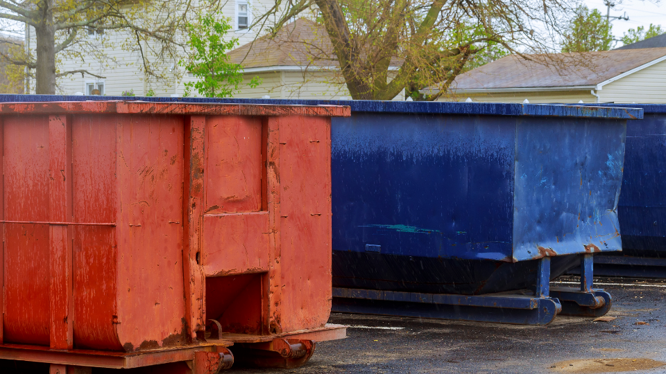 Roll off dumpster sizes